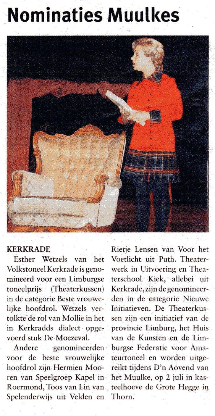 2010-06-01 Wetzels Esther nominatie Moezeval001